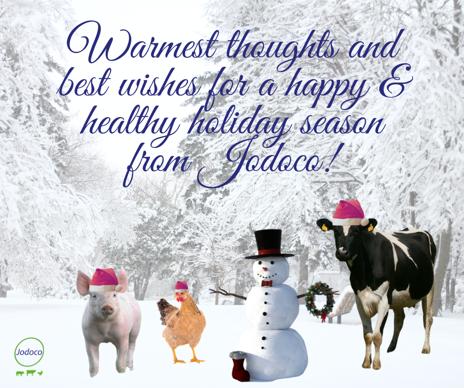 Warmest thoughts and best wishes for a happy and healthy holiday season from Jodoco!